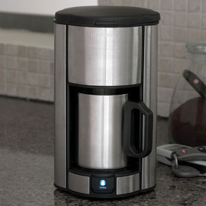 Brookstone Coffee Maker For One : 1 cup coffee maker
