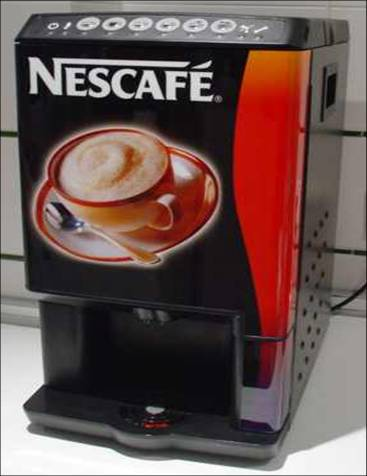 this commercial coffee maker combines the strength of espresso and vending machines it can dispense long black espresso like an espresso