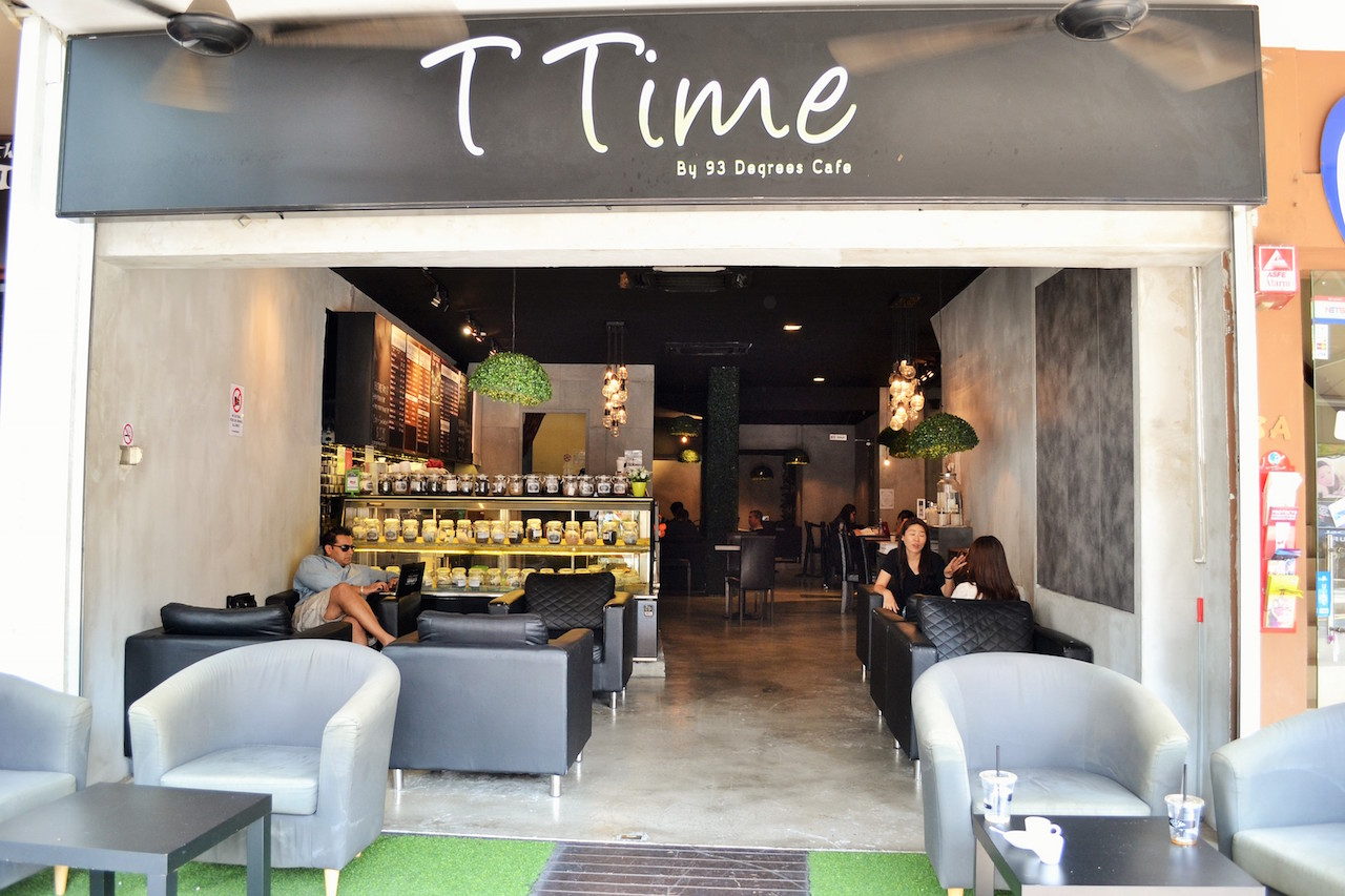 T Time By 93 Degrees Cafe at 8 Lorong Mambong