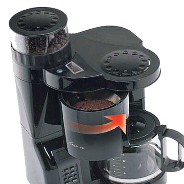 Capresso 454 CoffeeTEAM Coffee Maker Grinder Combination