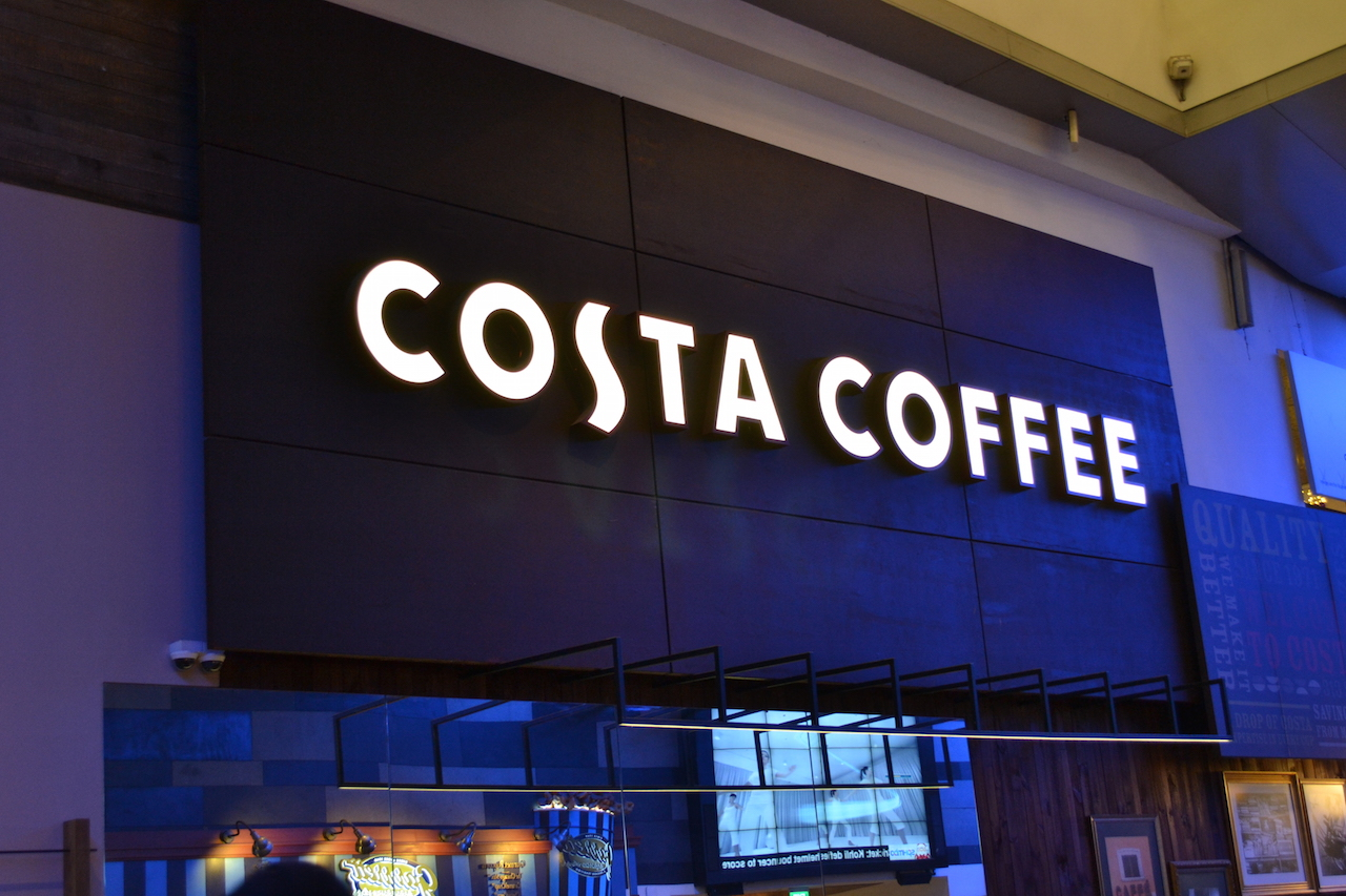 Costa Coffee at 313 Orchard Road