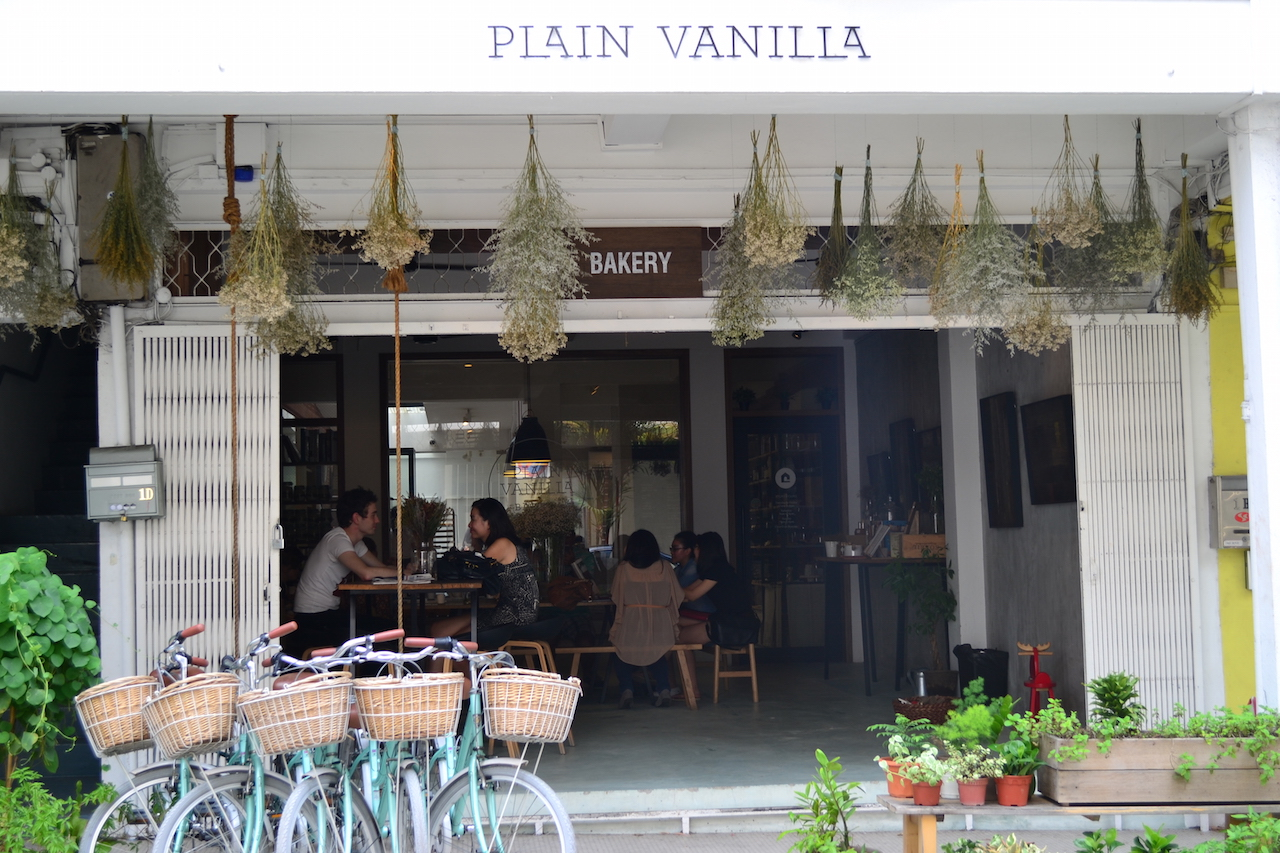 Plain Vanilla at 1D Yong Siak Street