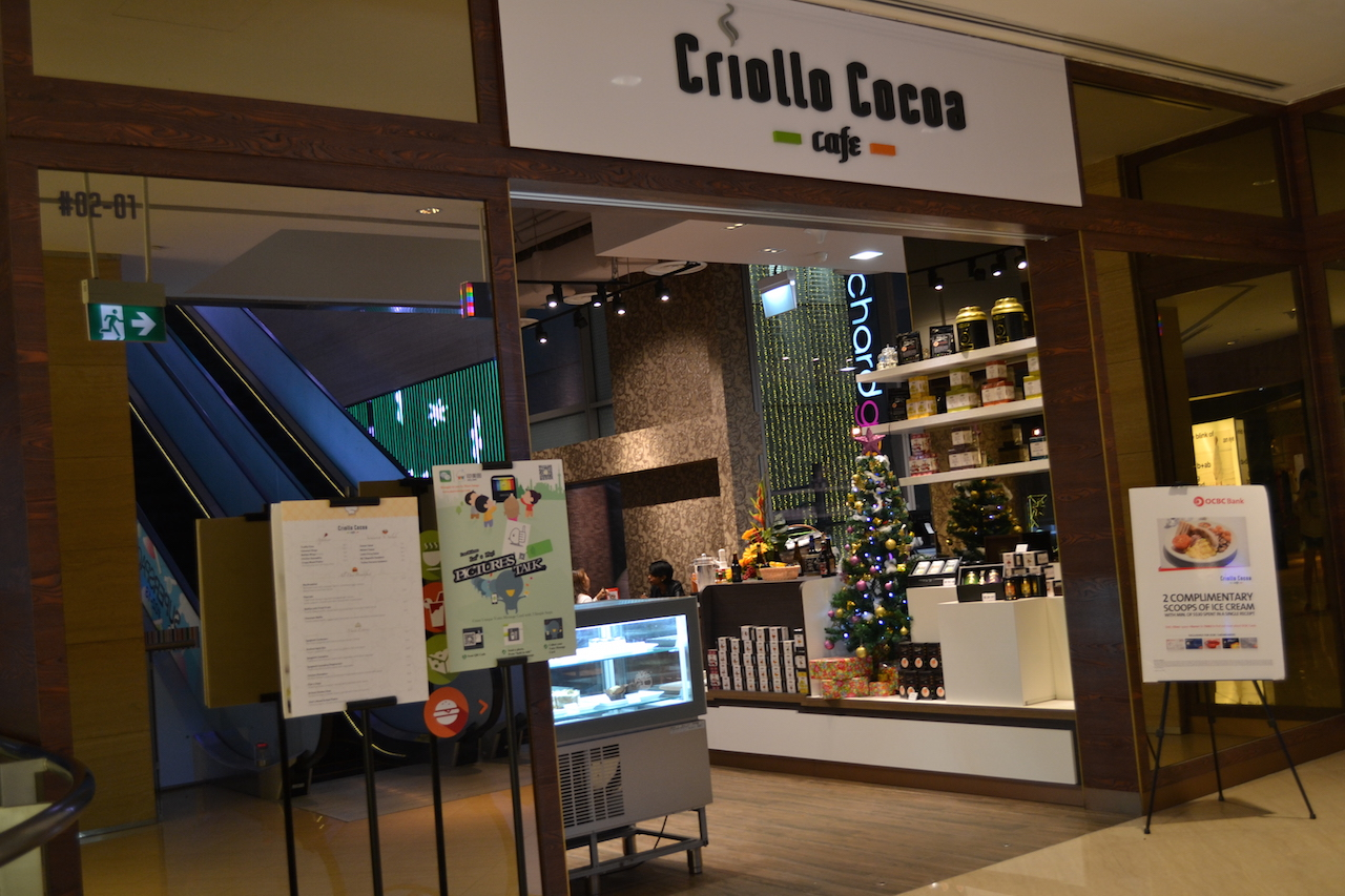 Criollo Cocoa Cafe at Orchard Gateway