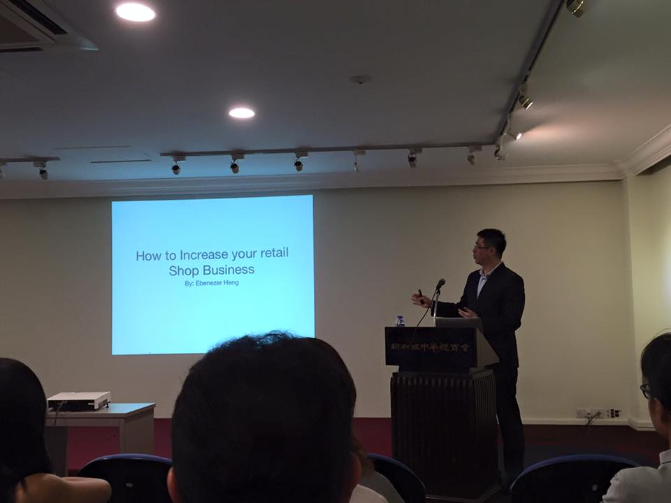 F&B talk at Singapore Chinese Chamber of Commerce