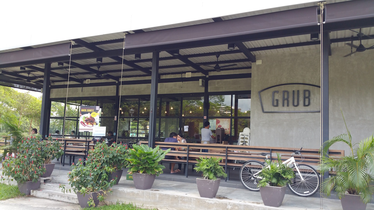 Grub Cafe at Bishan Park 1