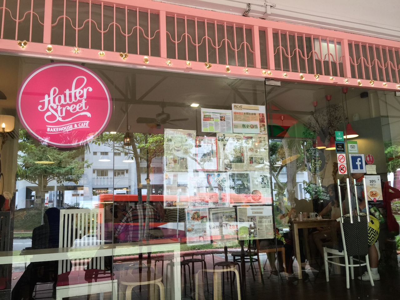 Hatter Street Bakery Cafe at 212 Hougang street 21