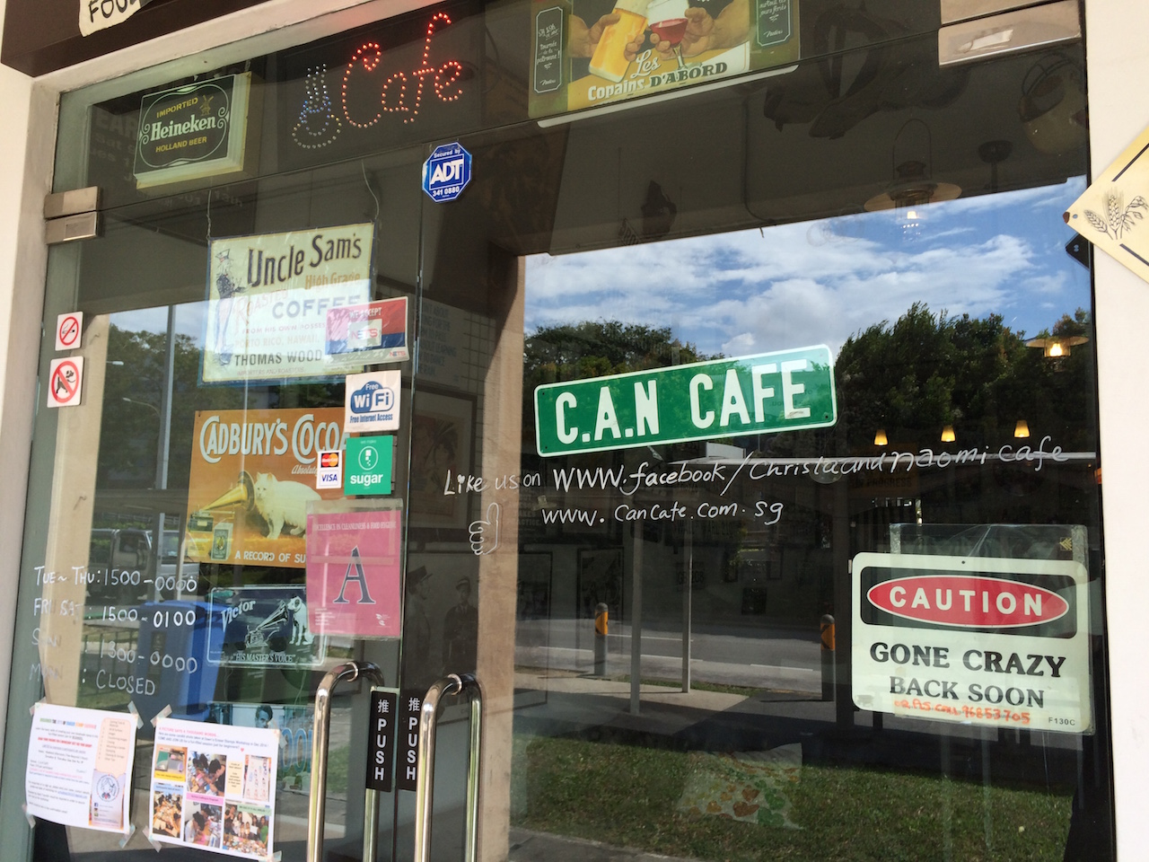 C.A.N Cafe at 730 Upper Serangoon Road