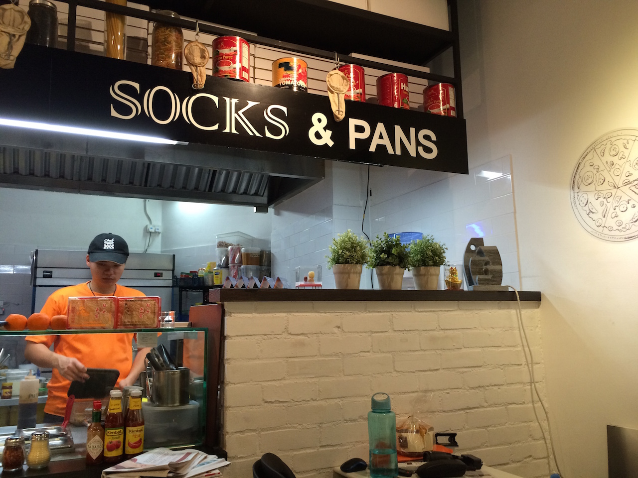 Socks and Pans at 50 Market Street