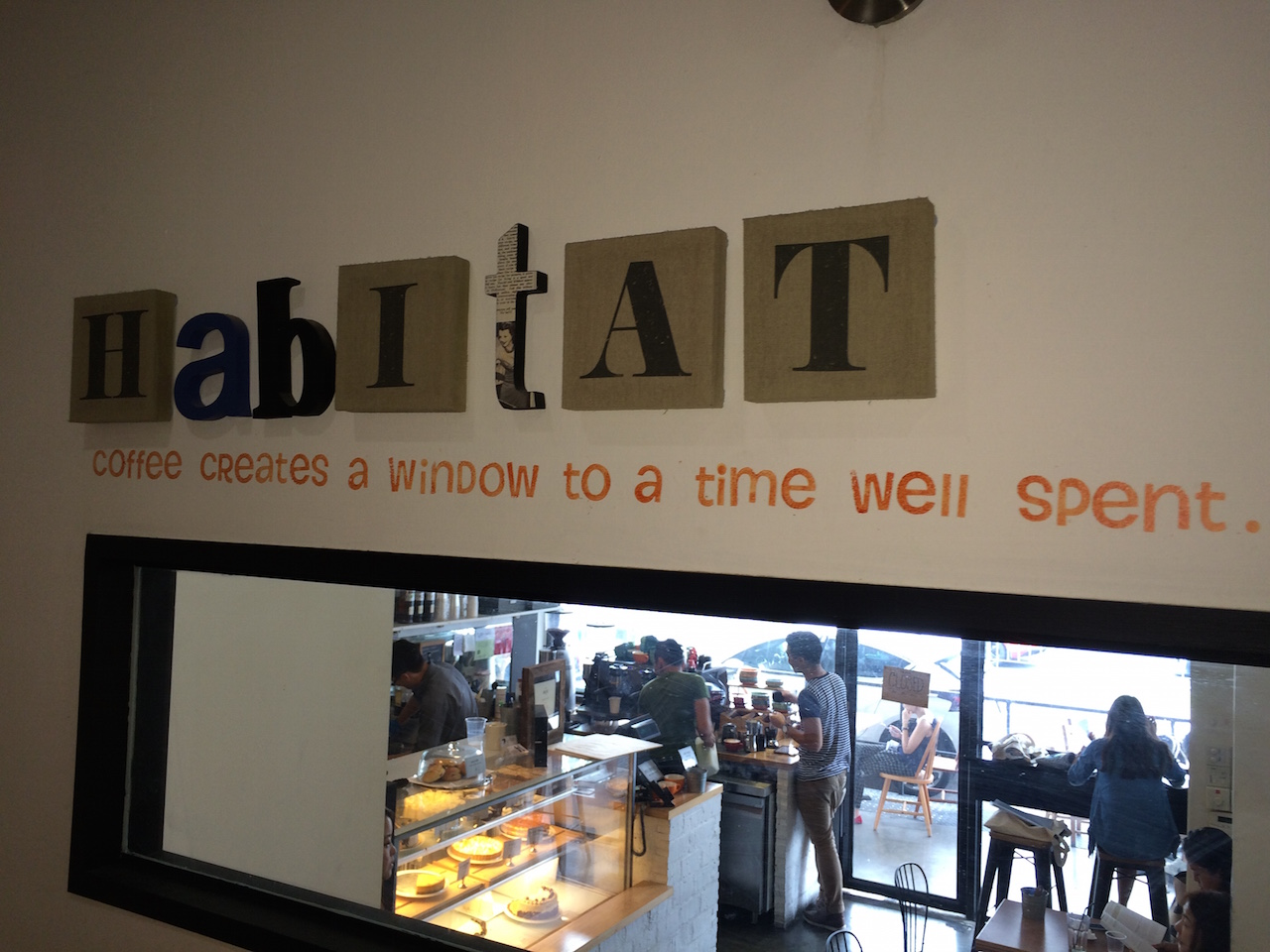 Habitat Coffee at 223 Upper Thomson Road