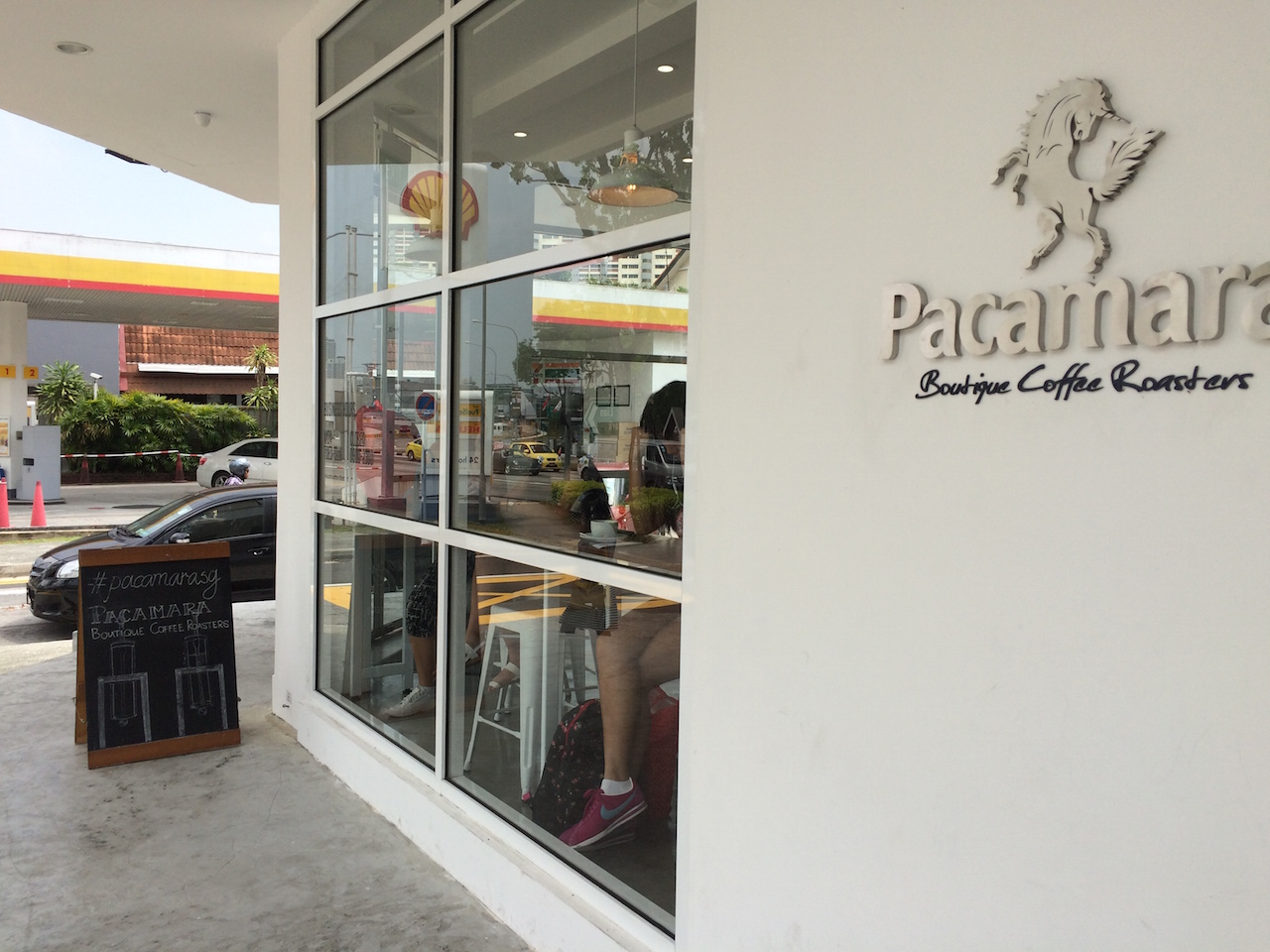 Pacamara Cafe at185 Upper Thomson Roadl