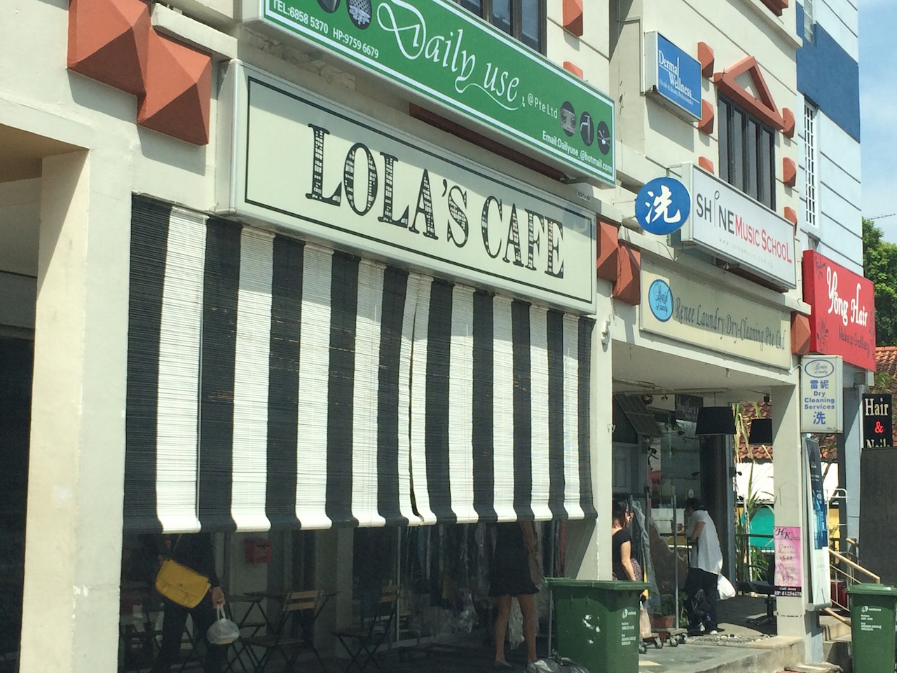 Lola's Cafe at 5 Simon Road