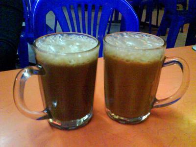 meeting of 2 coffee lovers