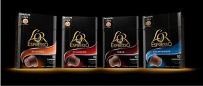 L'OR espresso capsules