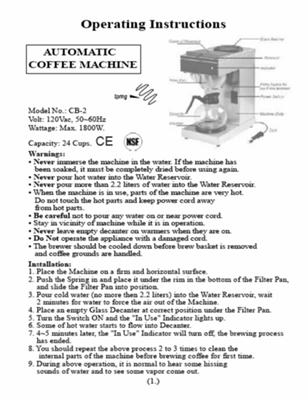 Coffee Maker Instructions : Neff Coffee Machine Instruction Manual - Website of quqihebe!