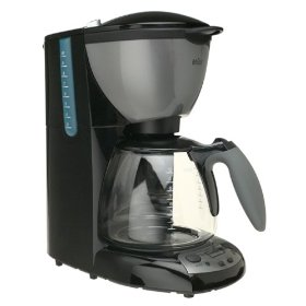 braun kf 580-bk aroma deluxe 10 cup timecontrol coffeemaker