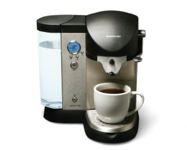simple human coffee maker