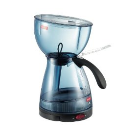 Vacuum Coffee Maker Single Cup : Bodum 3001-581 USA Santos 12-Cup Vacuum Brewer, Graphite Blue