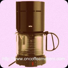 Braun aromaster coffee maker
