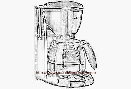 Coffee Pot Drawing This Braun Coffee Machine