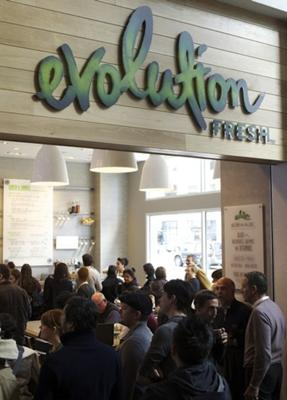 Starbucks bought over Evolution Juice