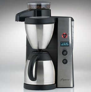 Capresso coffee maker machine coffeeteam is amazing