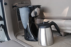 Coffee Maker For Cars : Car coffee maker