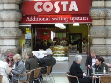 Coasta Coffee traditional Outlet