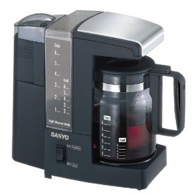Sanyo coffee and tea maker