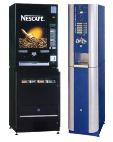 Coffee vending machines -nes