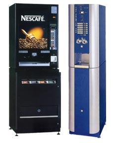 Coffee vending machines -nes