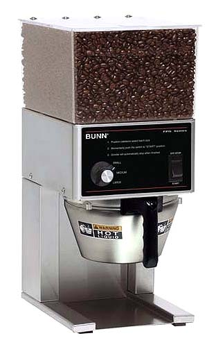 Bunn Commercial Coffee Grinder ~ Good commercial coffee grinder
