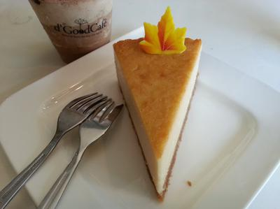 Cheese Cake |D'Good Cafe|Singapore