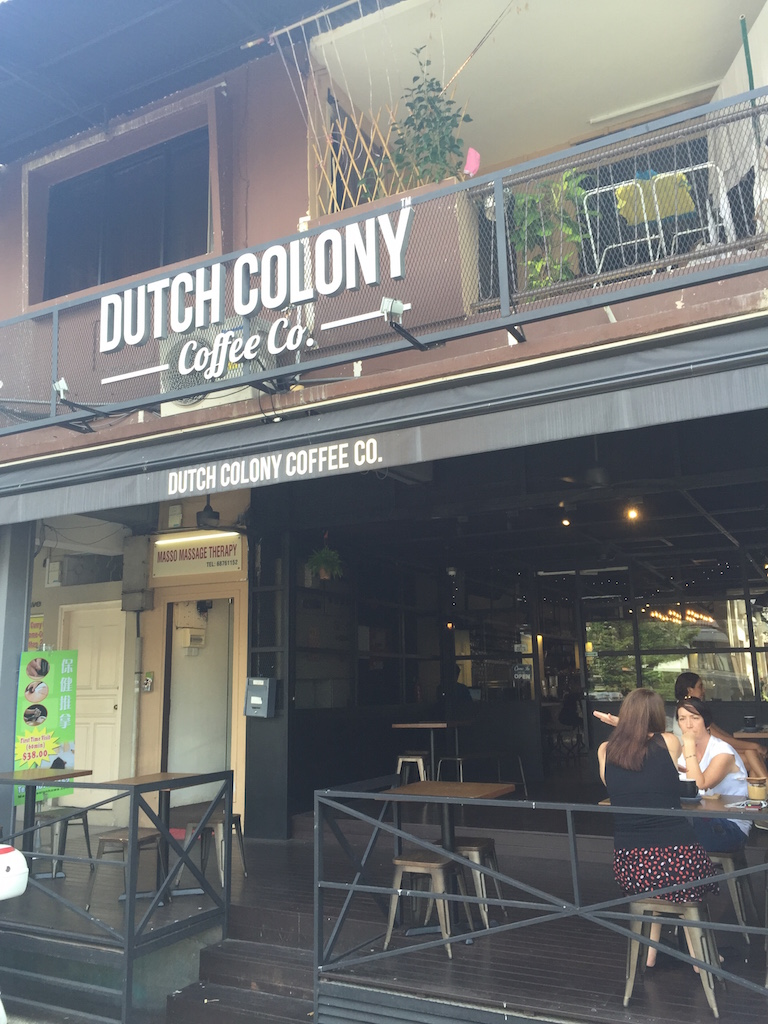 Dutch Colony Cafe at 113 Frankel Avenue
