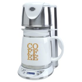 Elegant Saeco Coffee Maker With Ceramic Carafe