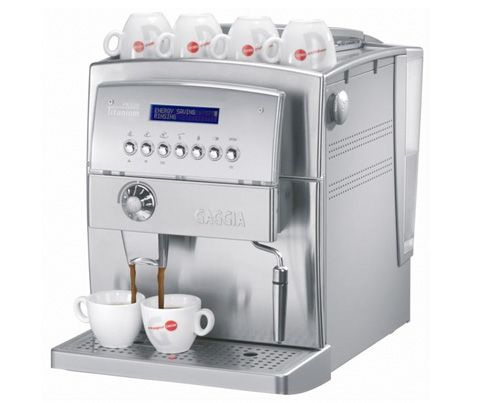 bean to cup coffee machines gaggia titanium 74889. Black Bedroom Furniture Sets. Home Design Ideas