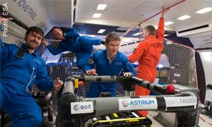 Nestle Zero gravity test for perect bubble