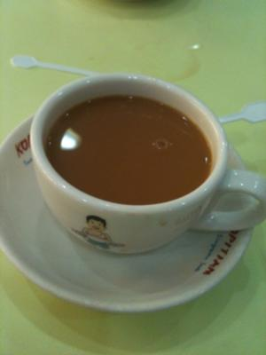Kopi in a Singapore Kopitiam