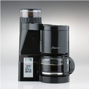 I bought and really like the capresso 454, is the best coffee maker with grinder