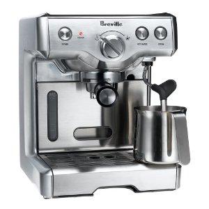 Breville 800ESXL Commercial 15-Bar Triple-Priming Die-Cast Espresso Machine