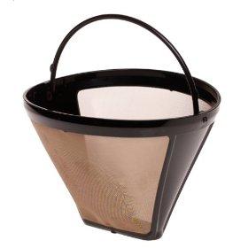 capresso 750.09 size 4 cone gold tone filter