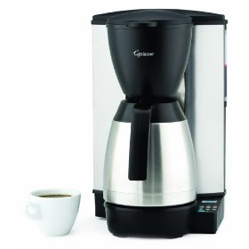 capresso MT600 10-cup coffee