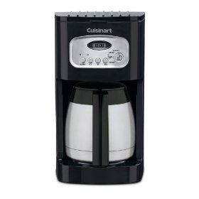 Cuisinart DCC-1150BK 10-Cup Programmable Thermal Coffeemaker, Black