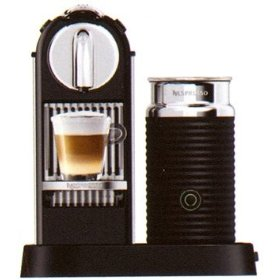 Nespresso D120-US-BK-NE CitiZ Automatic Single-Serve Espresso Maker and Milk Frother