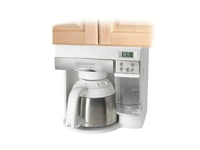 Fabulous Black And Decker Space Saver With In Cabinet Coffee Maker