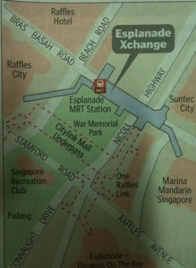 Esplande Xchange is prime area