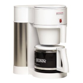 BUNN NHBX-W Contemporary 10-Cup Home Coffee Brewer