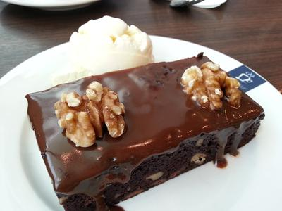 Jamaica Blue Cafe Brownie