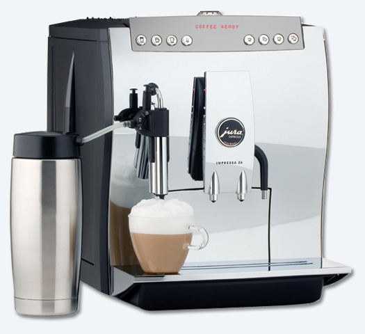 Jura Coffee Machine A One Touch Experience