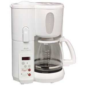 melitta mill and brew coffee maker