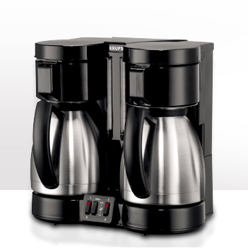 Krups 324 Dual Carafe Coffee Machine